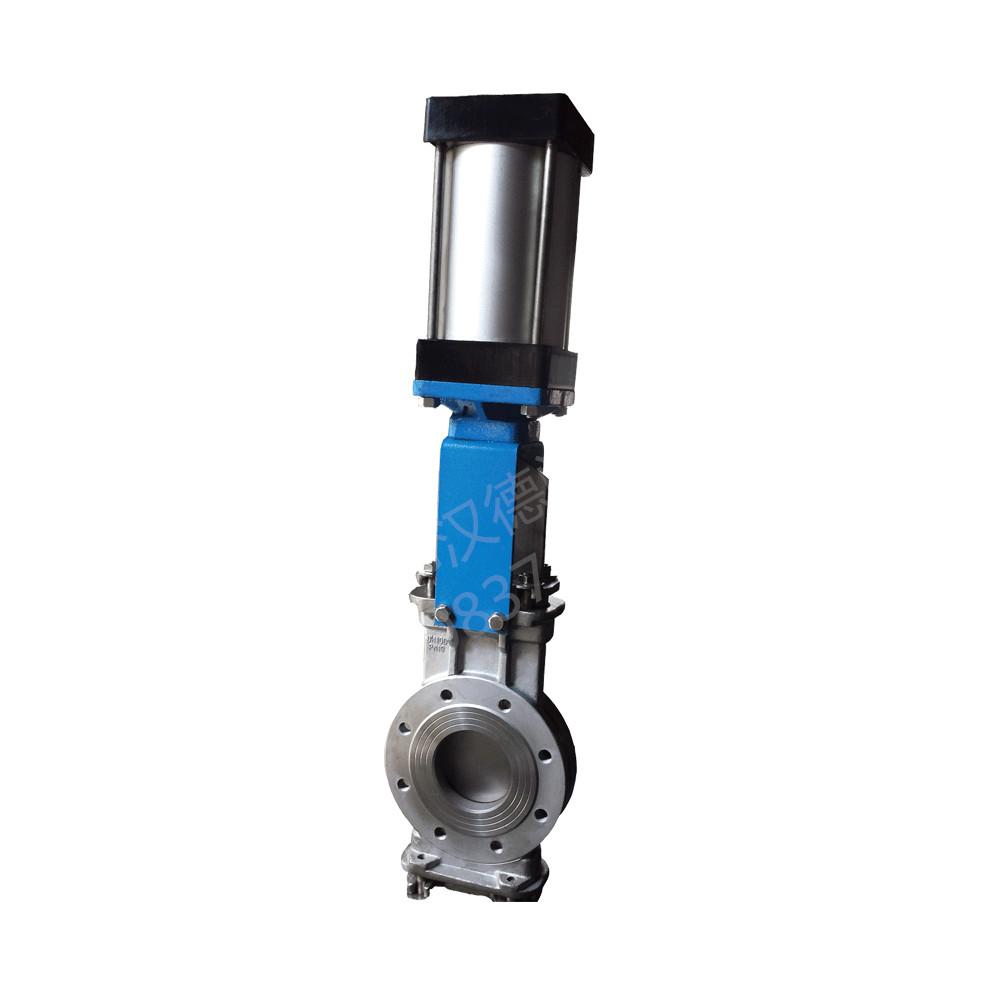 HD8P穿透式刀型调节阀