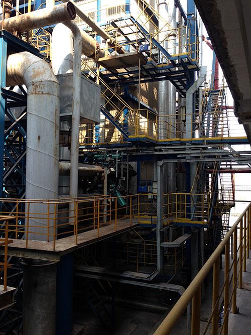 武钢集团鄂城钢铁能源动力厂项目