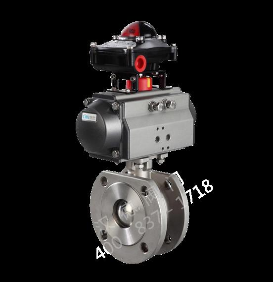 HD6P61气动超薄球阀