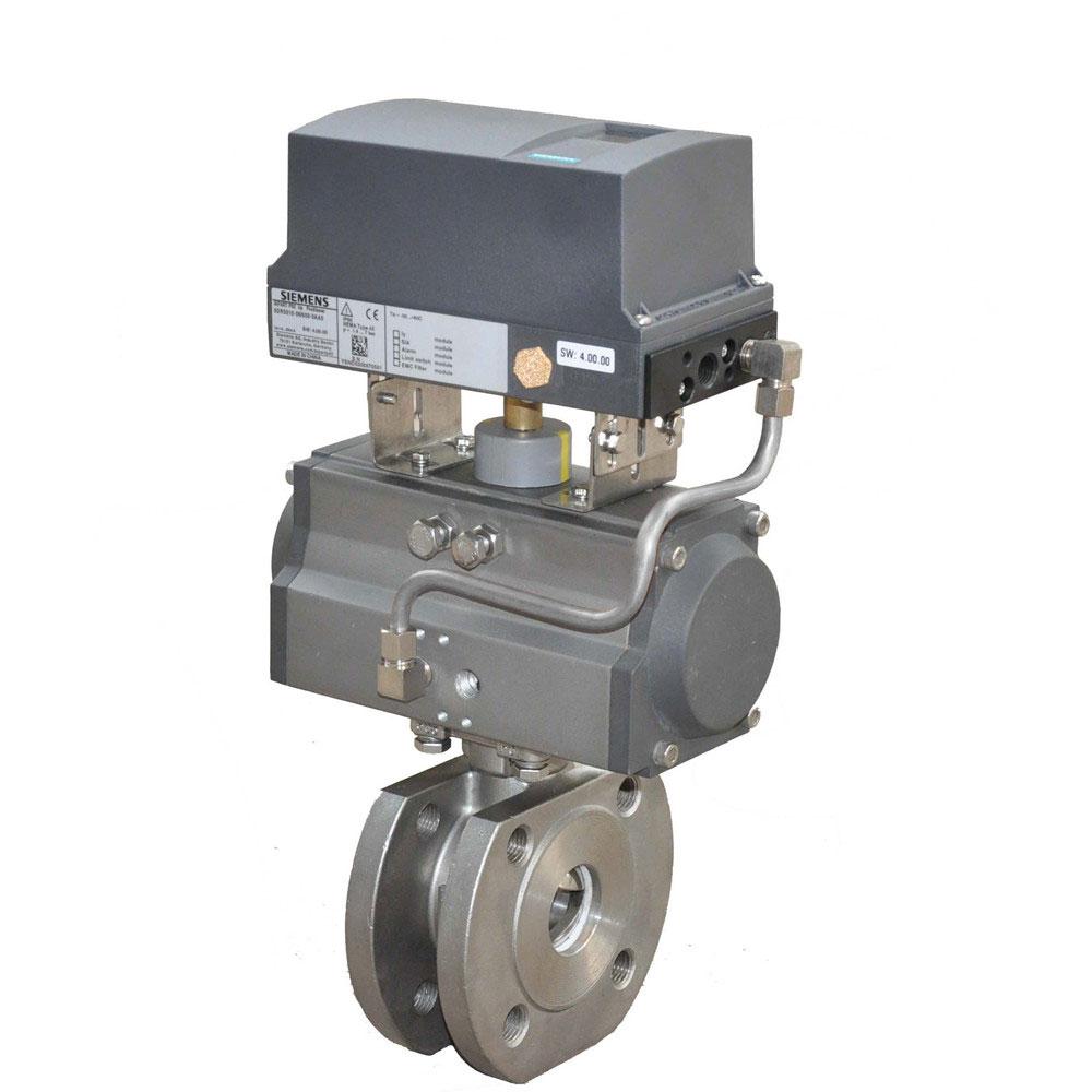 HD6P62气动V型调节球阀